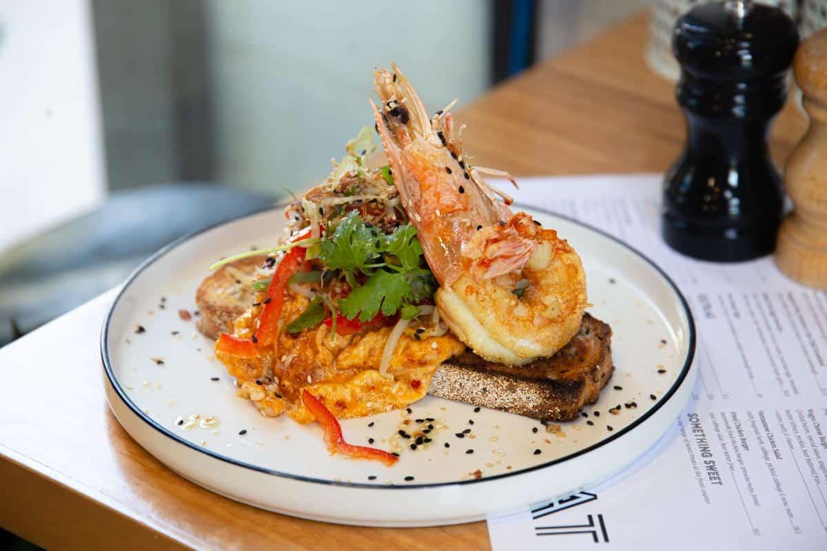 Singapore Crab Chilli Scramble